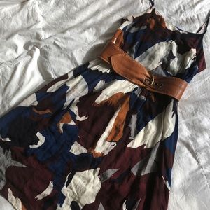 EUC Loft Bogo Abstract Sundress
